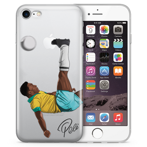 Pele Soccer iPhone Case