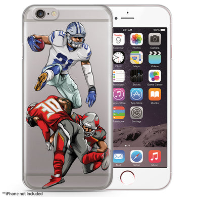 Zeke Hurdles 2.0 Football iPhone Case