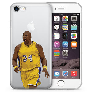 Shaq Basketball iPhone Case