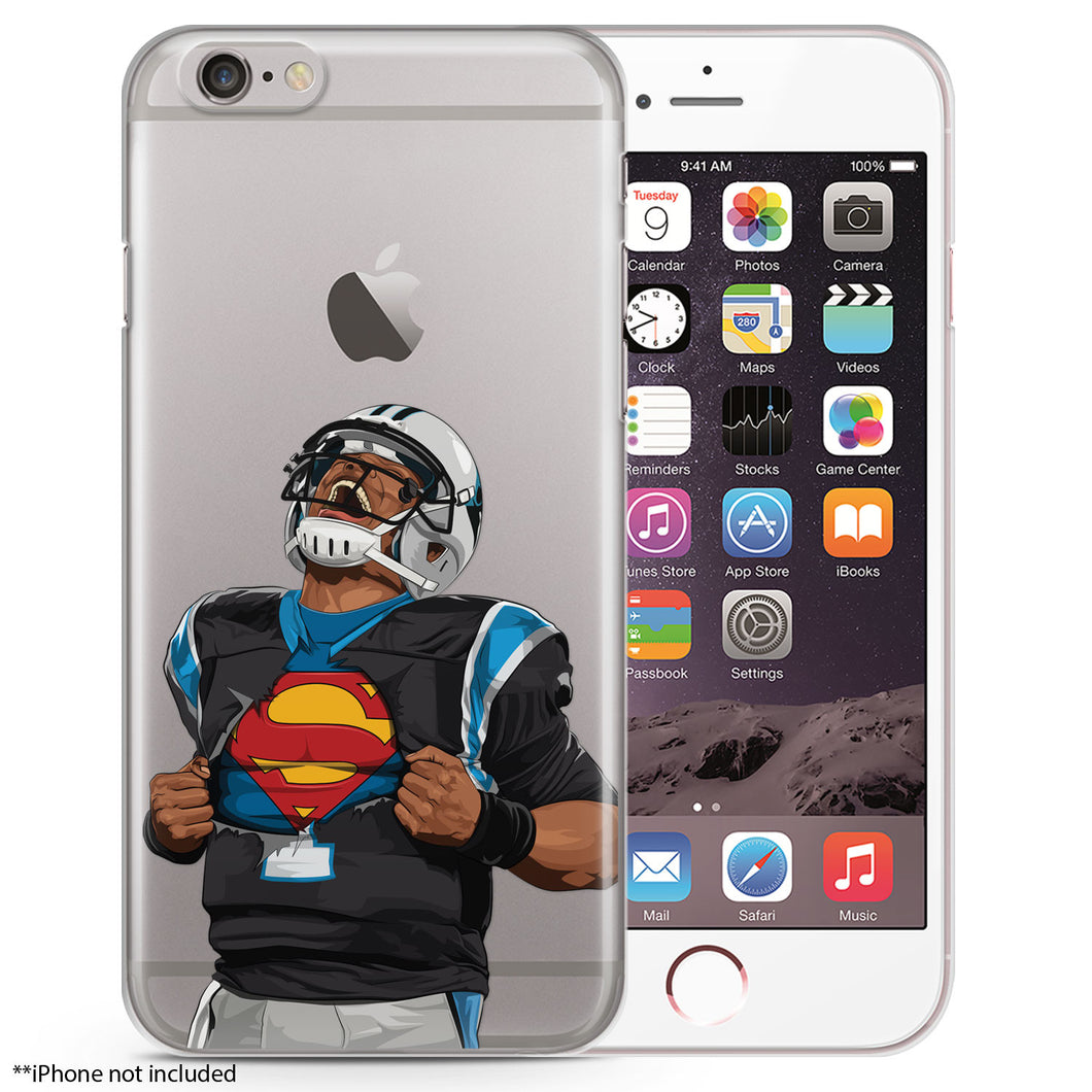 Superman Football iPhone Case