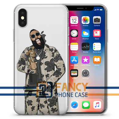 The Beard MVP Basketball iPhone Case