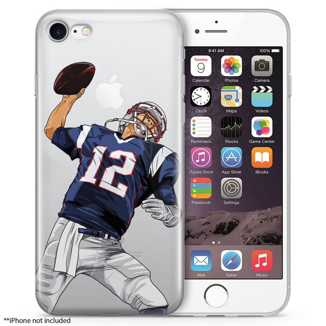 Tom Terrific Football iPhone Case
