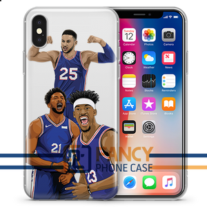 Trust The Process Basketball iPhone Case
