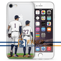 Twosome Baseball iPhone Case
