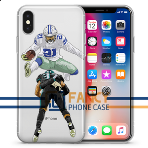 Zeke Hurdle 3 Football iPhone Case