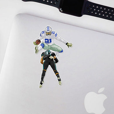 Zeke Hurdle Sticker