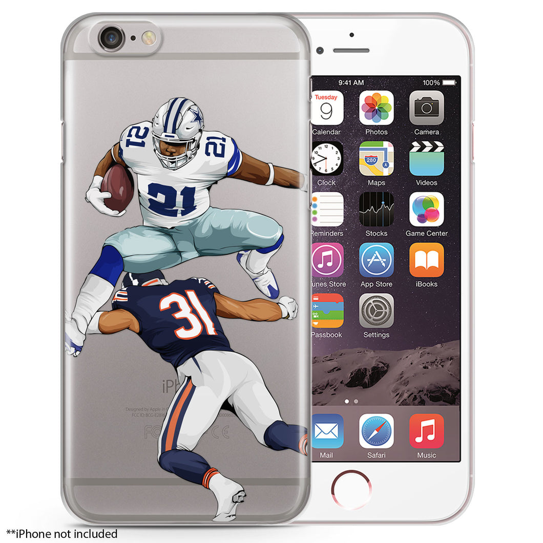 Zeke Hurdles iPhone Case