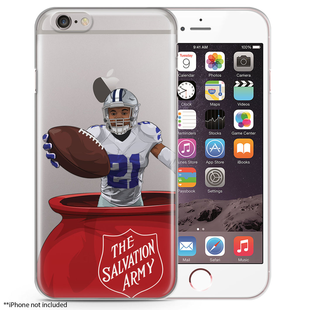 Zeke Celebration Football iPhone Case