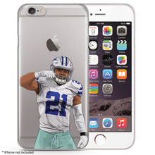 Zeke Eating Football iPhone Case