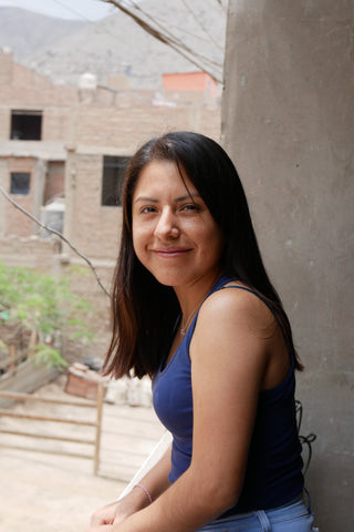 LLI's Education Manager in Huaycan, Lima, peru, Yeni