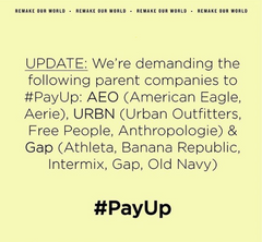 Remake's #PayUp Campaign