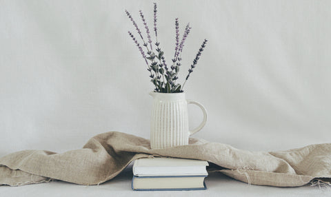 Linen books plant sustainable fabric