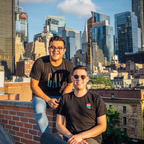 GAY PRIDE APPAREL - Founded by Jesus and Sergio, Gay Pride Apparel is a first generation Mexican-American & LGBTQ+ owned brand focused on empowerment,