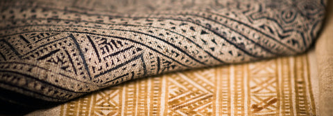 Woven textile cultural fabric