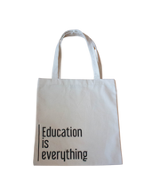 Load image into Gallery viewer, LLI Education is Everything Tote