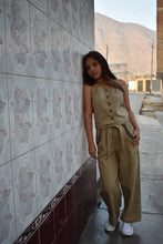 Load image into Gallery viewer, Abi Bell Pants (Linen Khaki) - Huaywasi: Handmade in Peru