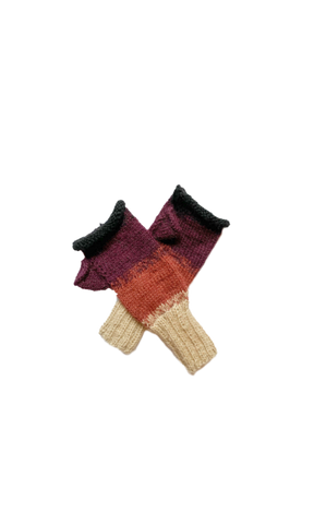 Puno Slipper Socks (Garnet)