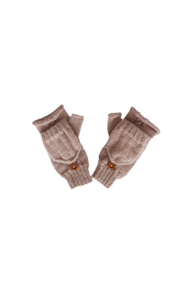 Huancayo Convertible Gloves (Thistle) - Huaywasi: Handmade in Peru