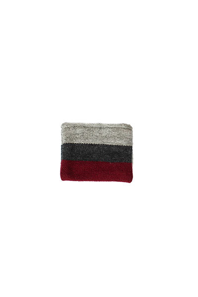 Invierno Coin Purse (Cranberry) - Huaywasi: Handmade in Peru