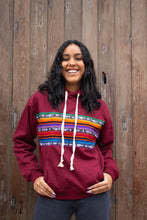 Load image into Gallery viewer, Charlie Sweatshirt - Deep Cardinal - Huaywasi: Handmade in Peru