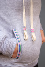 Load image into Gallery viewer, Zachary Cowl Neck Sweatshirt (Plomo) - Huaywasi: Handmade in Peru