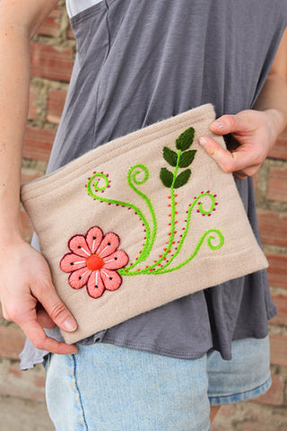 Daria Coin Purse - Sandstone