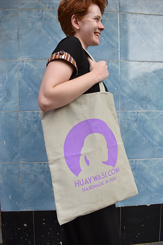 Gamarra Canvas Tote - Meteor   SALE!