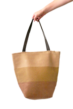 Load image into Gallery viewer, Daria Tote Bag with Zipper (Pale Peach) - Huaywasi: Handmade in Peru