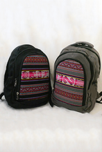 Load image into Gallery viewer, Viky Backpack (Midnight) - Huaywasi: Handmade in Peru