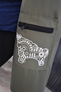 Torito Yoga Bag - Hunter Green - Huaywasi: Handmade in Peru