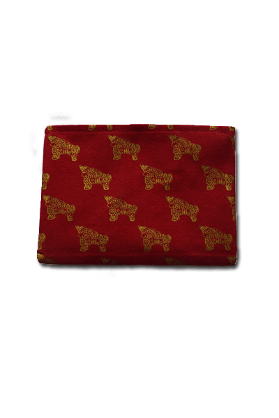 Torito Clutch (Deep Red) - Huaywasi: Handmade in Peru