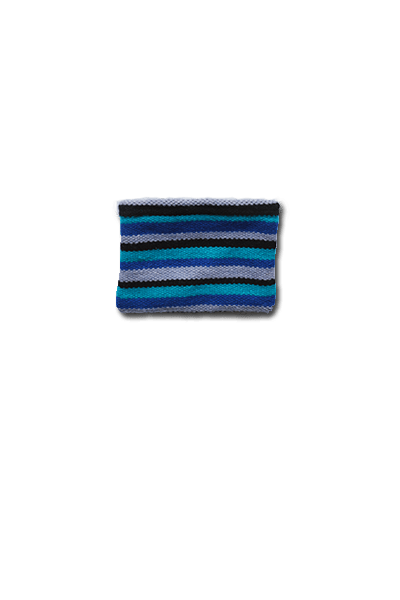 Daria Coin Purse (Winter Skies) - Huaywasi: Handmade in Peru