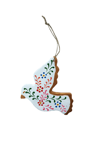 Llamita Ornament (Gray)