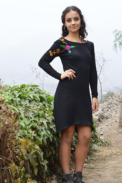 Ayacucho Embroidered Dress