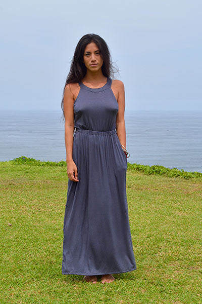 The Lily Dress (Granite) - Huaywasi: Handmade in Peru