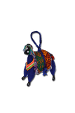 Small Llamita Ornament (Blue) - Huaywasi: Handmade in Peru