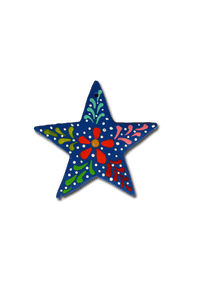 Star Ornament (Blue) - Huaywasi: Handmade in Peru
