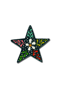 Star Ornament (Green) - Huaywasi: Handmade in Peru