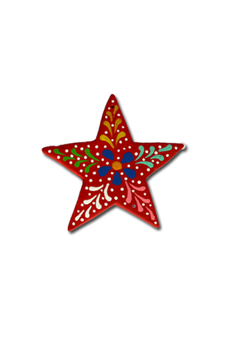 Star Ornament (Red) - Huaywasi: Handmade in Peru