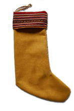 Load image into Gallery viewer, Papá Noel Stocking (Red) - Huaywasi: Handmade in Peru