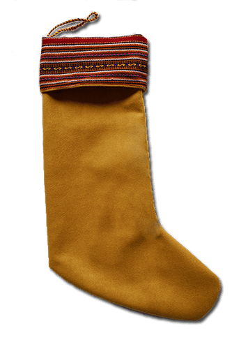 Papá Noel Stocking (Red) - Huaywasi: Handmade in Peru