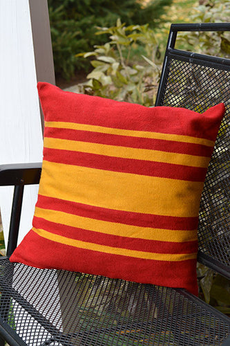 Daria Pillow Cover - Sunbeam - Huaywasi: Handmade in Peru