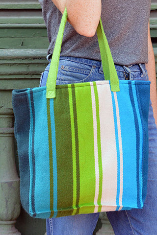 Gamarra Canvas Tote - Chocolate   SALE!