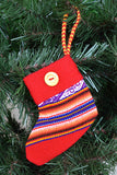 Mini Nochebuena Stocking - Huaywasi: Handmade in Peru