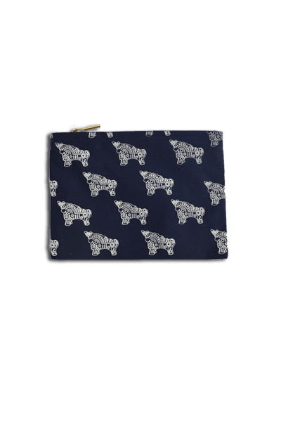 Torito Clutch (Denim) - Huaywasi: Handmade in Peru