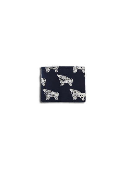Torito Coin Purse (Denim) - Huaywasi: Handmade in Peru