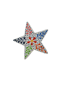 Star Ornament (White) - Huaywasi: Handmade in Peru