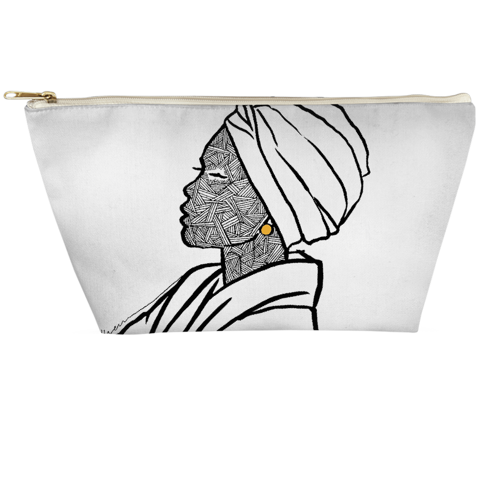 Turbaned Woman Pouch - Small