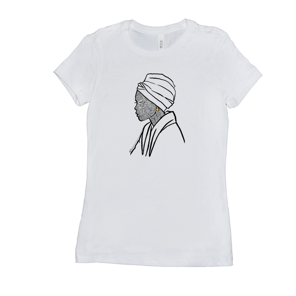 Turbaned Woman T-Shirt Front