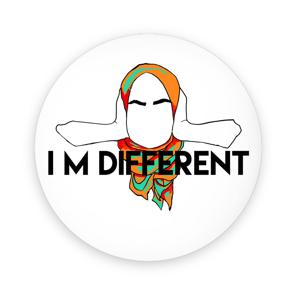 I'm Different Button - Round